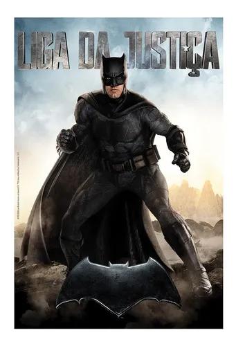 Quebra-Cabeça - 200 Peças - DC Comics - Liga da Justiça - Batman - O Filme - Grow