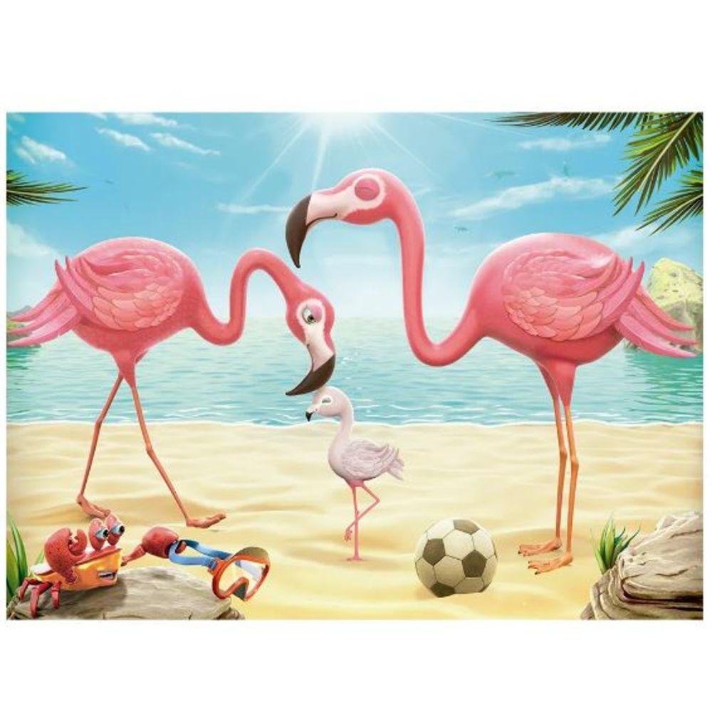Quebra-cabeça 60 Peças Flamingos Grow