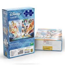 Quebra Cabeça Puzzle Disney 60 peças 02449