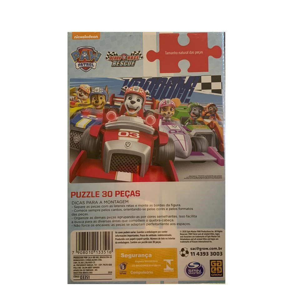 Quebra Cabeça Puzzle Patrulha Canina 30 Peças 03351