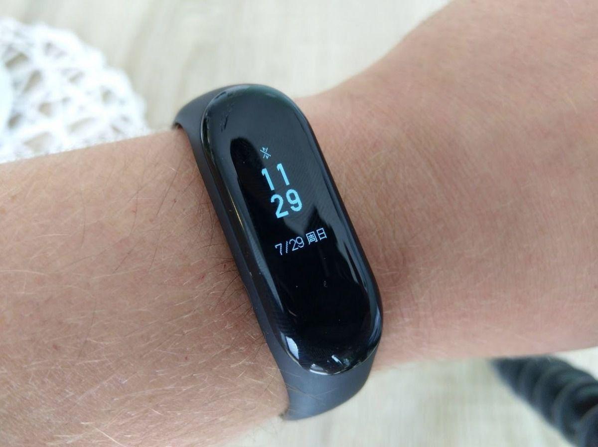 Rel 243 Gio Smartwatch Pulseira Xiaomi Mi Band 3