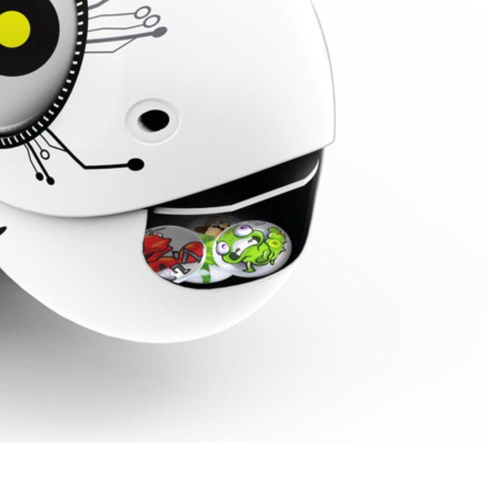 Robô Camaleão Controle Remoto Com Luz Led Colorida Dtc