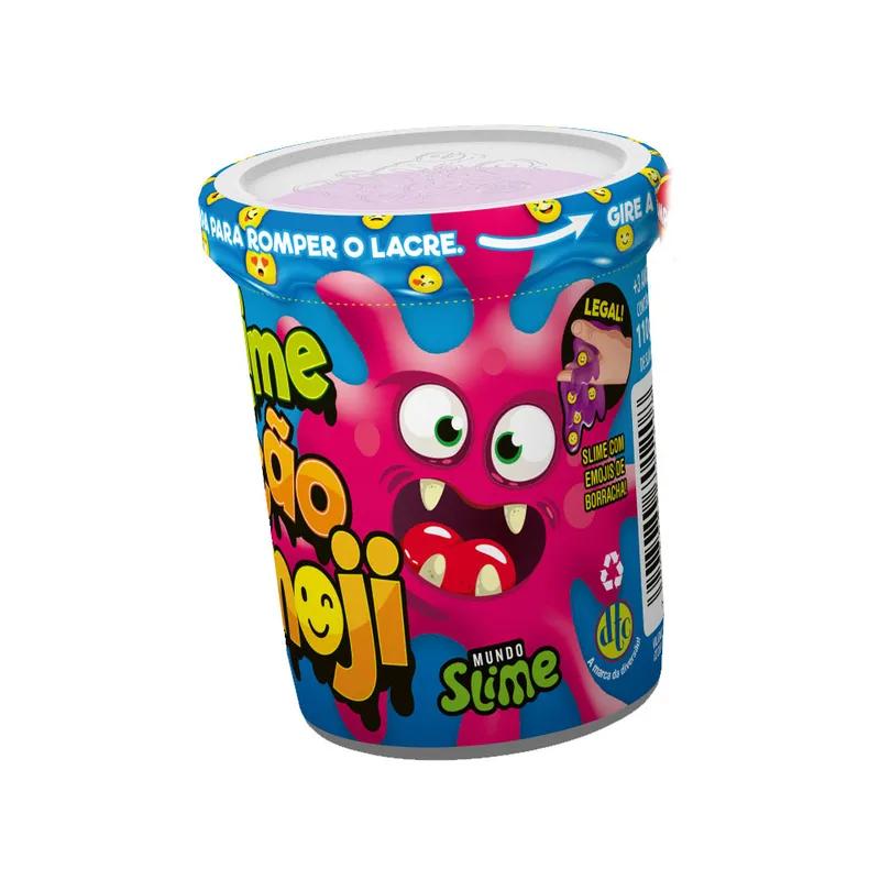 Slime Ecão Emoji Cores Sortidas 110g Lavável Dtc
