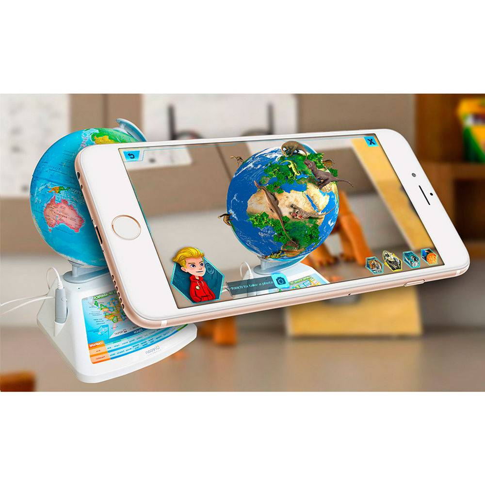 Globo Interativo Smart Globe Oregon Realidade Aumentada