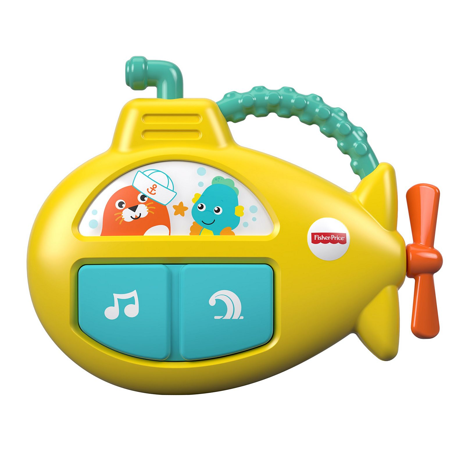 Submarino Musical On-the-go Fisher Price - Fxc02