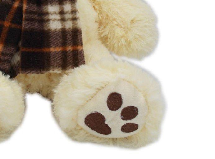Urso Pelúcia Cachecol 30 cm Lita