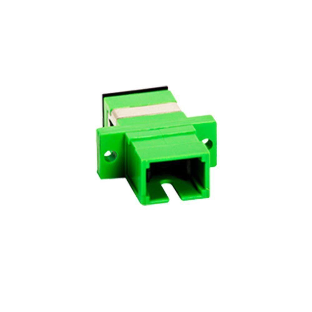 Adaptador Óptico SC/APC Com flange