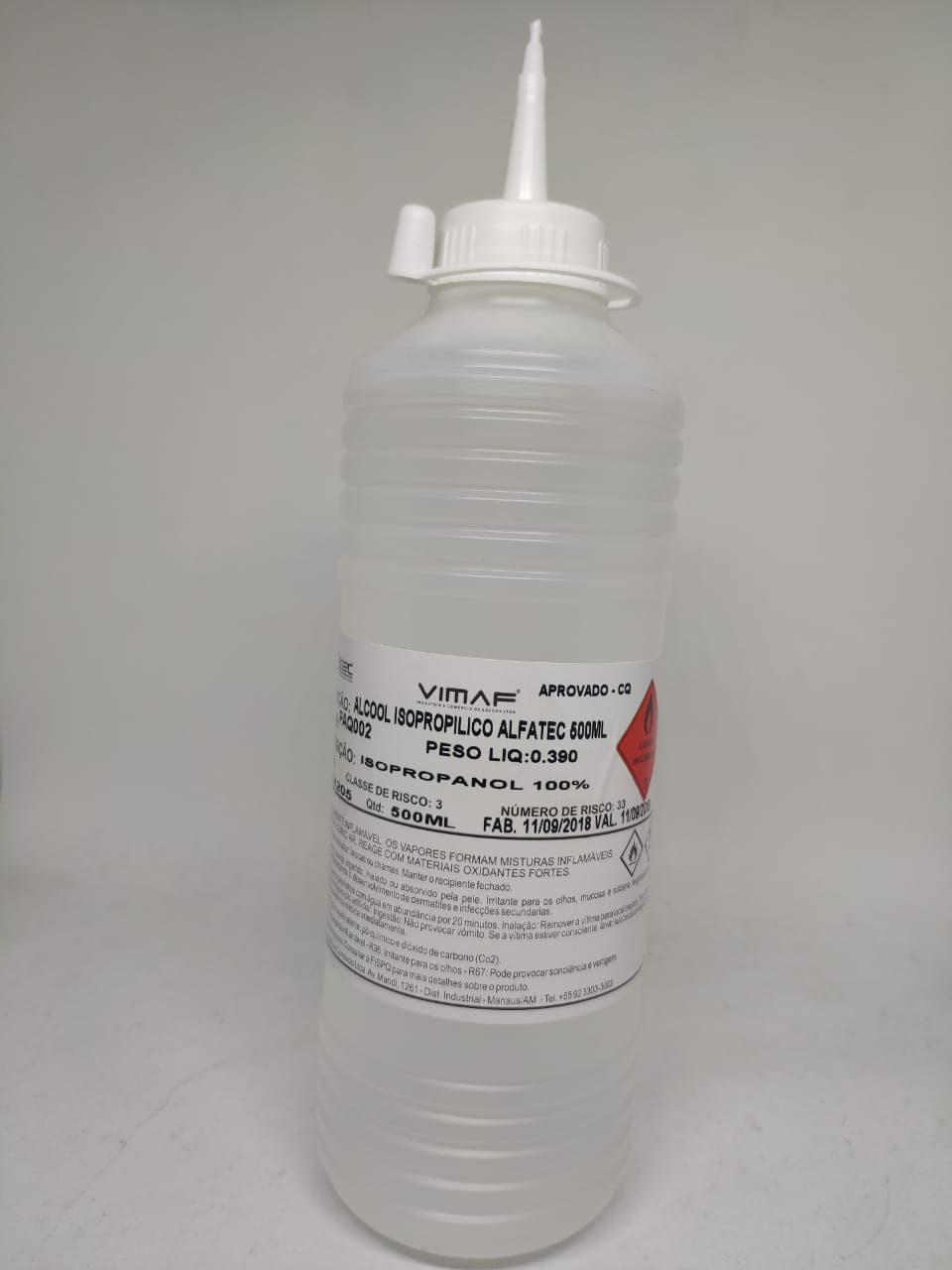 Alcool Isopropílico 500ml