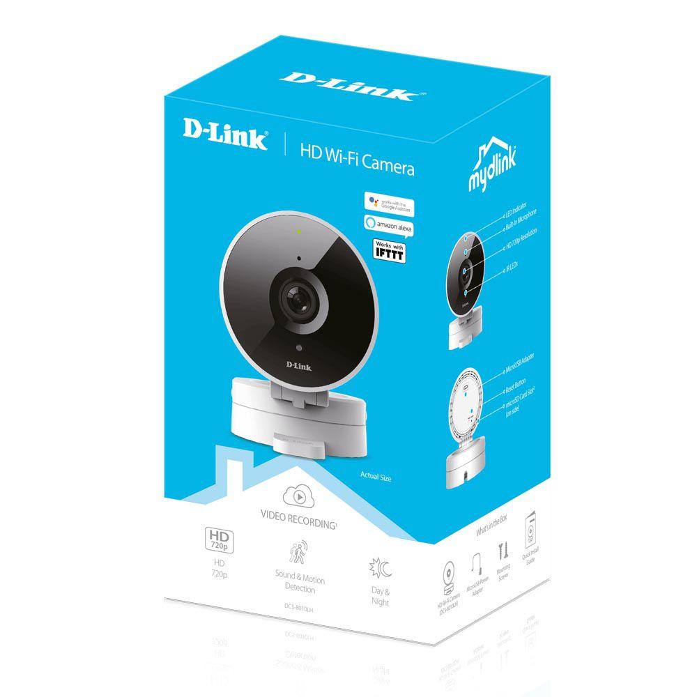 Câmera D-link  Wi-Fi HD 120º