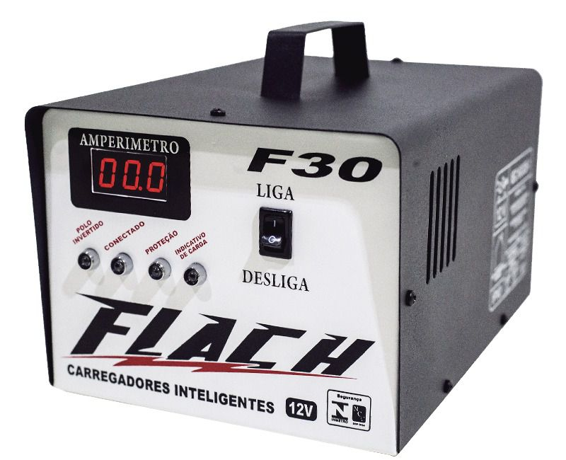 Carregador Inteligente 48 volts Flach