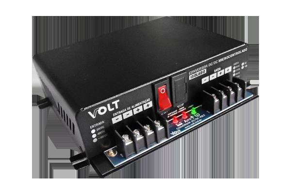 Conversor dc/dc Microcontrolado Volt Isolado