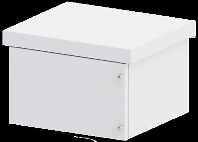 Gabinete Alumínio ALGcom Outdoor Standard 6U