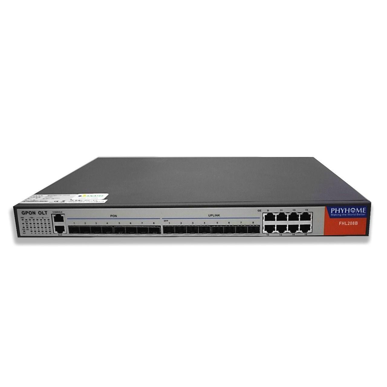 OLT GPON FHL208B Anatel 03830-17-10489 COMPLETA