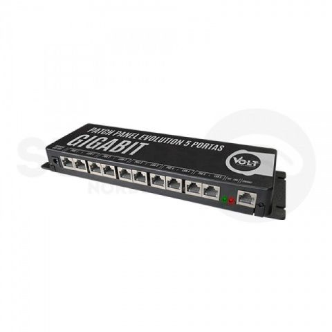 Patch Panel Gigabit 5 Portas Evolution