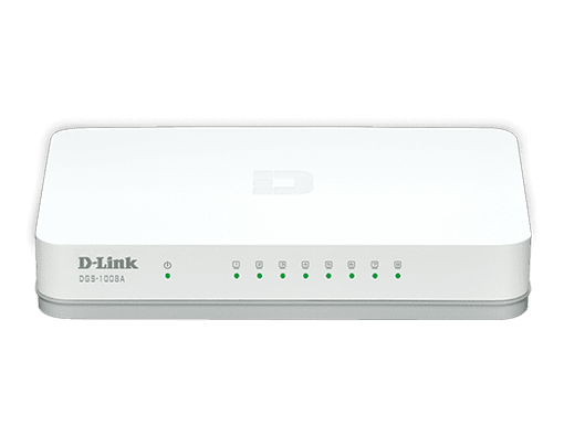 Switch Gigabit 8 portas - DGS-1008A