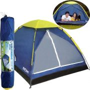 Barraca Camping Tenda Iglu 4 Pessoas Acampamento Praia Coluna Dagua 300mm (4356)
