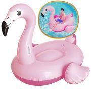 Boia Gigante Inflavel Flamingo Tamanho G Praia Piscina Lazer (1979/9796)