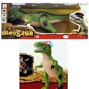 Dinossauro Com Controle Remoto Sons Danca e Anda Movimento Brinquedo (f151)