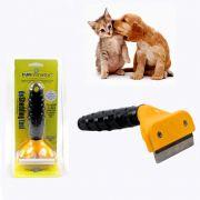 Escova Tira Remove Pelos Para Cachorro e Gatos Pet Pratico Fuminador