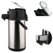 Garrafa Termica Aço Inox Bebidas Quente e Frio 1,9 Litros Cafe Sucos 24 horas