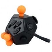Hand Spinner Apertar Cubo Fidget 12 Lados Funções Anti Estresse Dedo Apertar Relaxamento