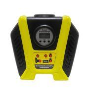 Mini Compressor Ar Recarregavel USB Lanterna Automotivo Digital Portatil Carro Pneu