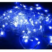 Pisca pisca De Natal 100 LEDs Luz Azul 8 Funções Natalino 9 Metros