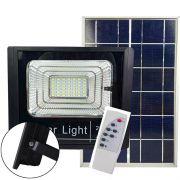 Refletor Holofote Solar 25w Led Controle Placa Solar Completo Sensor Iluminacao (ZEM-31549-A)