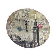 Relogio De Parede Para Decoracao Big Ben Londres 32cm (XIN-01)