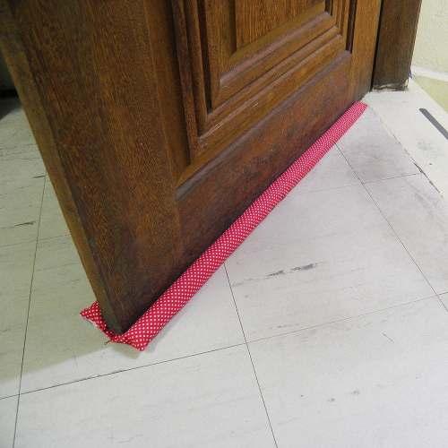 Protetor Porta Kit 4 Unidades Poeira Enfeite Casa 80cm Cobra (ZN008 Kit com 4)