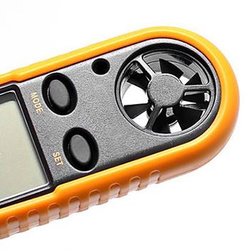 Anemometro Medidor de Vento e Temperatura com Termometro (GM816533440)
