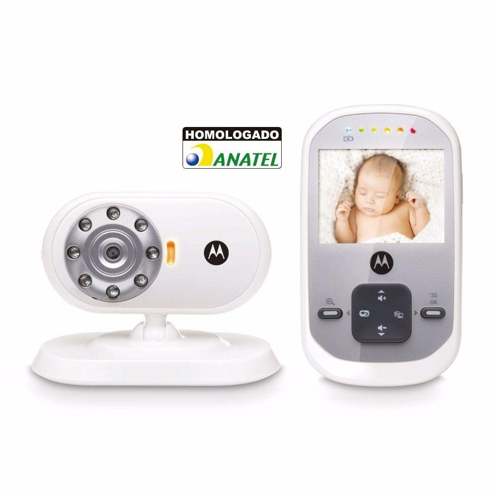 Baba Eletronica Motorola Original Video 2.4 Visão Noturna Monitor Camera Crianca Bebe