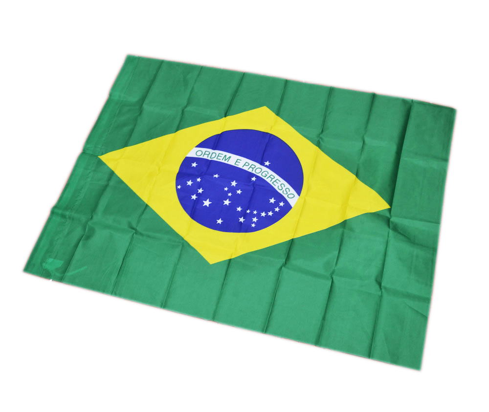 Bandeira do Brasil Patriotismo Olimpiada  Kit Com 10 Festa Copa do Mundo (2014-60)