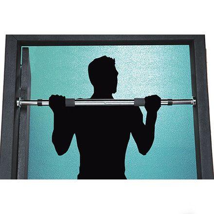 Barra de Porta Regulavel Flexao Fitness Aco Academia Ginastica Musculacao (5064)