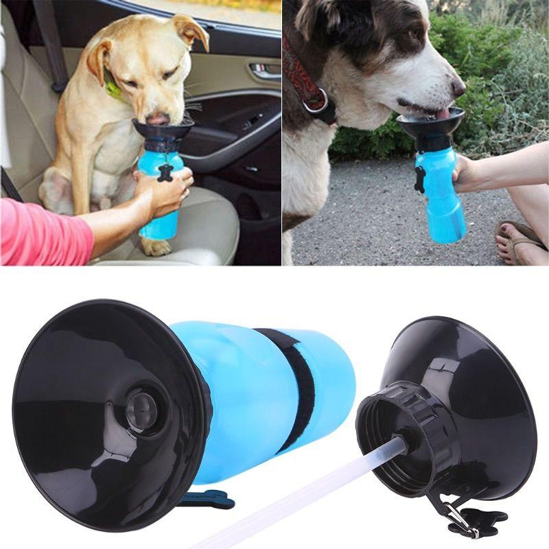 Bebedouro Garrafa Para Cães e Gatos Portatil Petshop Aqua Dog (BSL-PET-1)