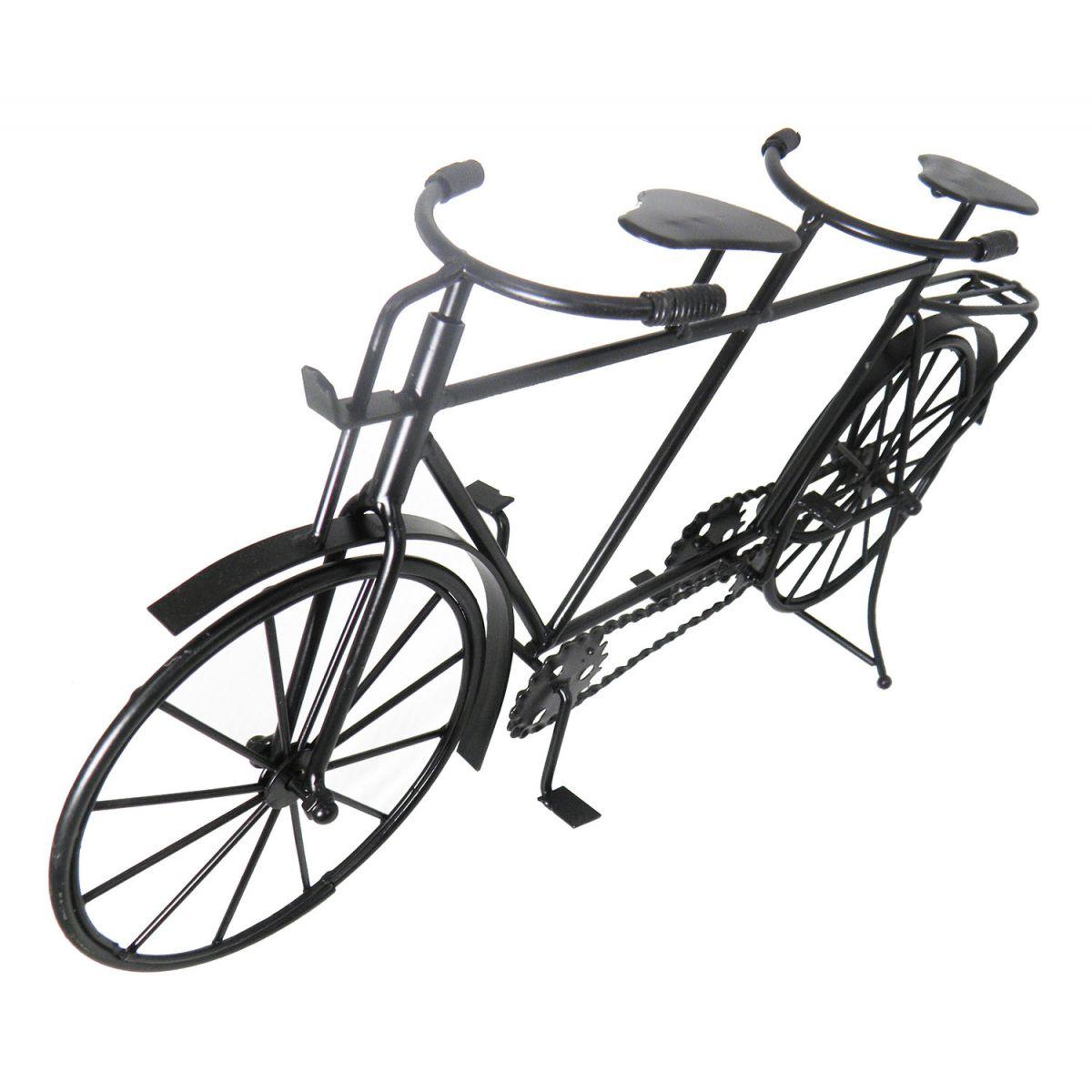Bicicleta Mini Ferro Vintage Retro 2 Pedal Mesa 42cm Preto (rel 35  #5B5E70 1200x1200 Balança Digital Para Banheiro Ponto Frio