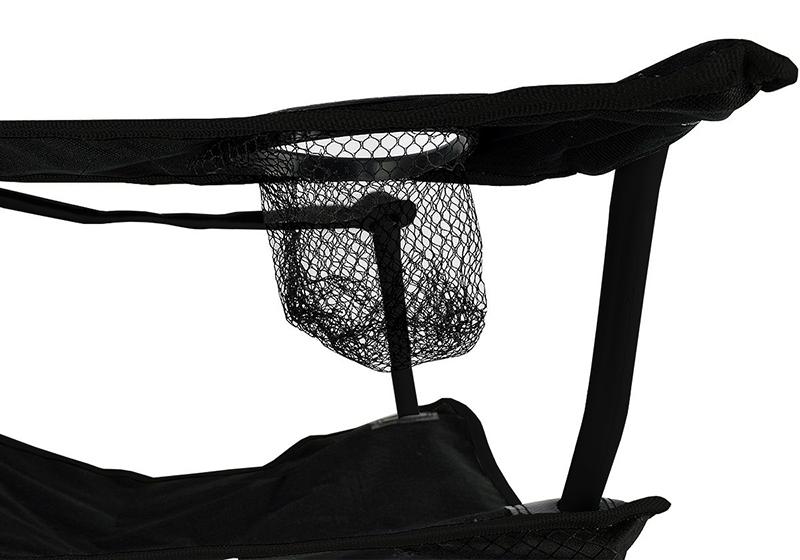 Cadeira Dobravel Braço Porta Copo Camping Pescaria Com Bolsa de Transporte Verde (D02259)