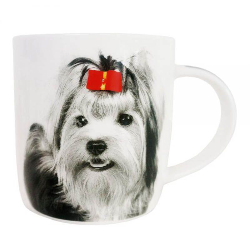 Caneca Copo Yorkshire I love dog Pet Cachorro I love Dog 320ml