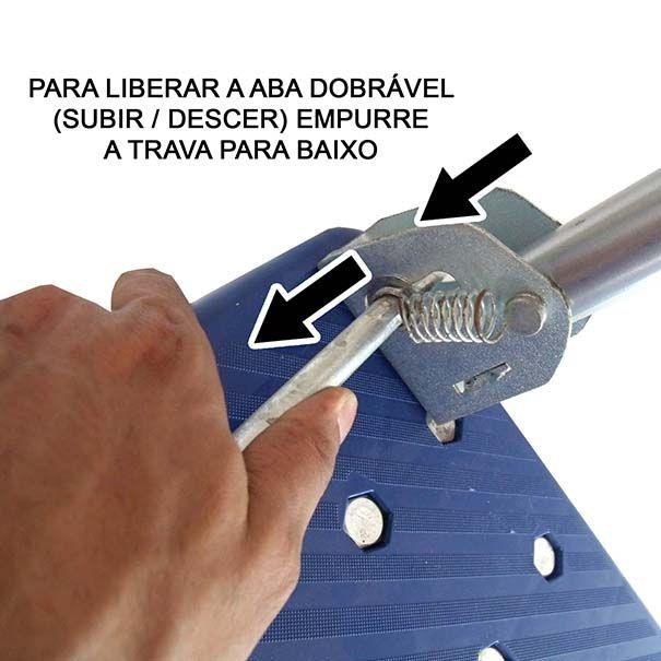 Carrinho de Carga Plataforma Dobravel 150kg Empresa Estoque (carea-plat)(807)