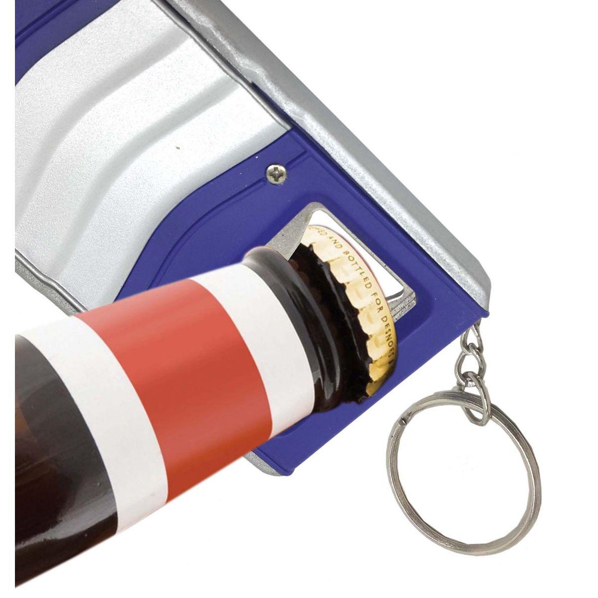 Chaveiro Abridor de Garrafa e Trena Retangular Prenda Brinde Box Com 24 Unid (BL-1503-26)