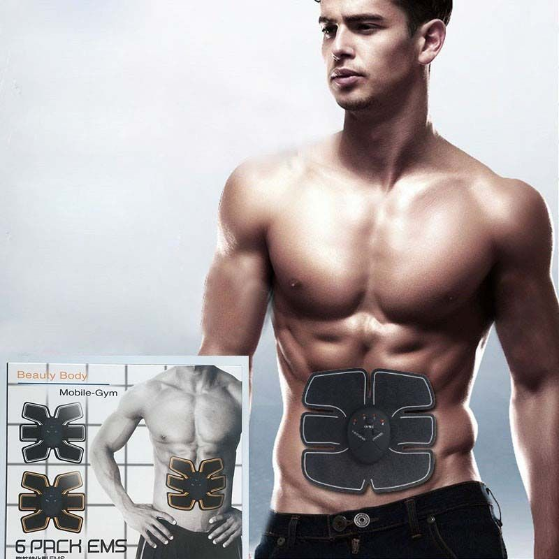Cinta Abdominal Eletrica Muscular 6 Pack Ems Tonificador (34940/mc40749)