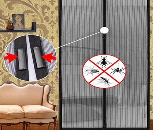 Cortina Mosquiteiro Tela Protecao Contra Insetos Mosquito Magic Mesh