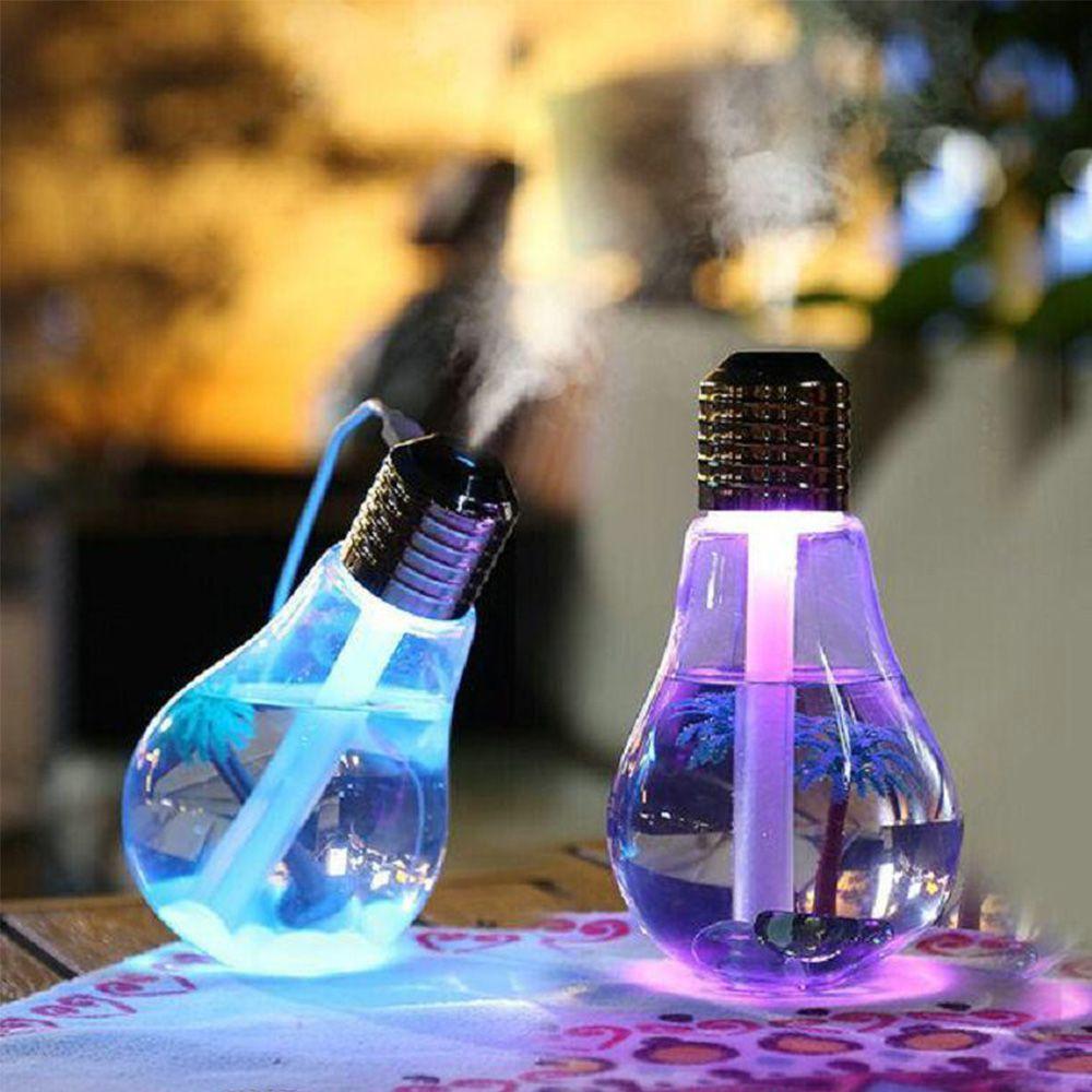 Umidificador De Ar Difusor Ultrassonico Aroma Purifica Led Lampada