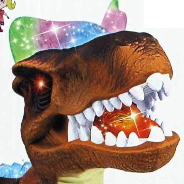 Dinossauro de Controle Remoto Danca Sons e Anda Brinquedo Movimento (F151)