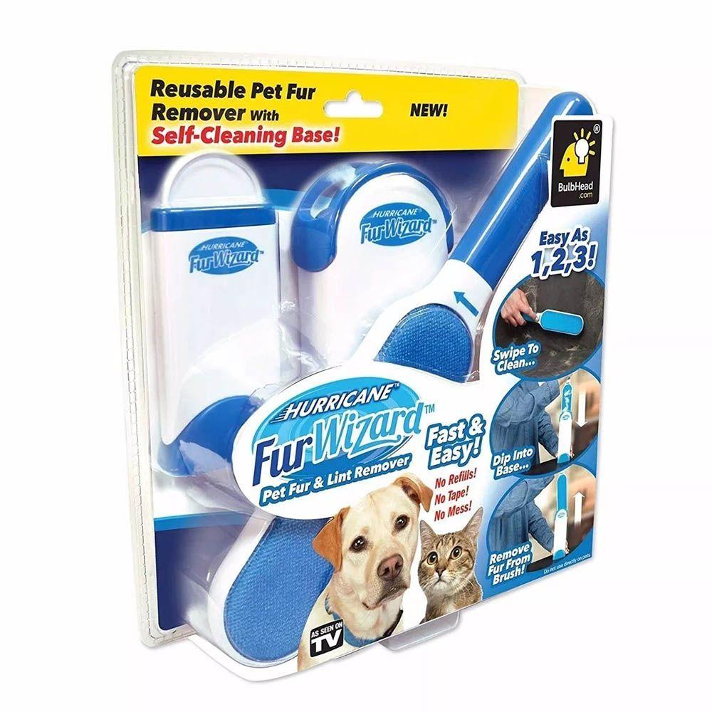 Escova Removedora de Pelos Pets Caes Gatos Moveis Roupas Sofa (888447)