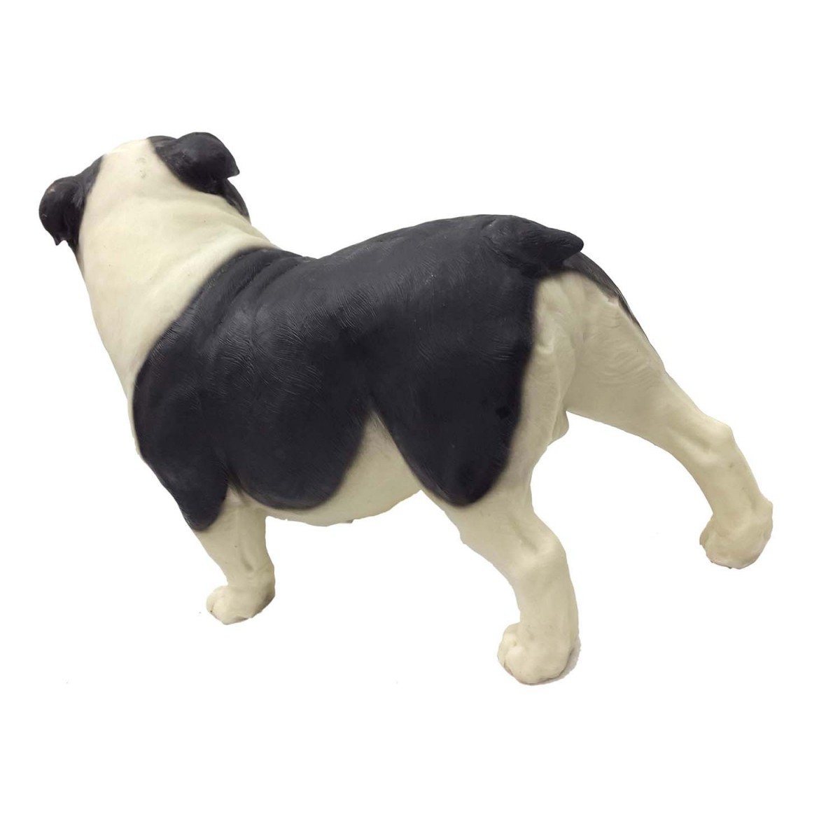 Escultura Resina Cachorro Cão Enfeite Decora Buldogue 16 Cm (BSL-F9037-1)