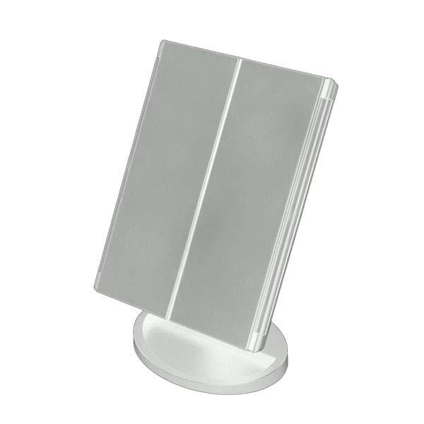 Espelho de maquiagem 3 Lados Luz Led Touch Estudio Quarto (888478)