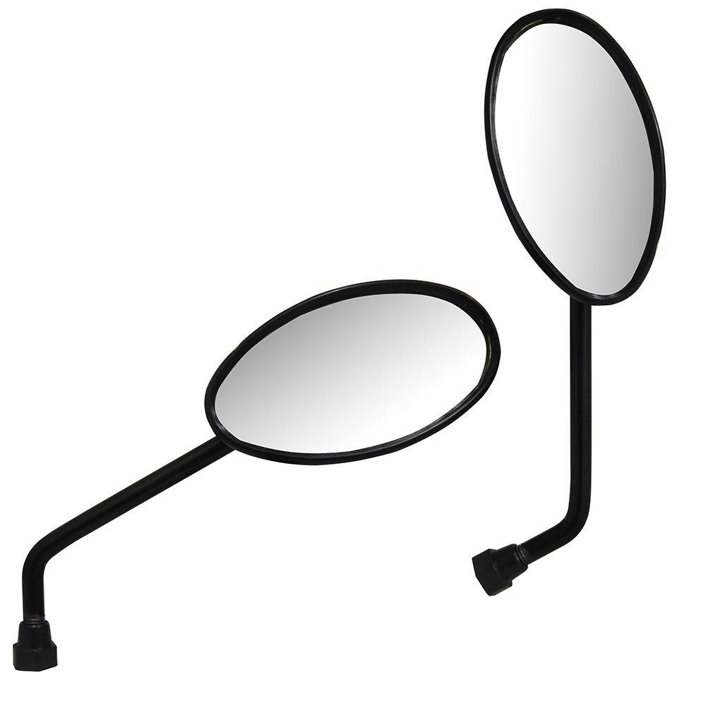 Espelho Par Retrovisor Moto Olho De Boi Serve em Todas Hondas