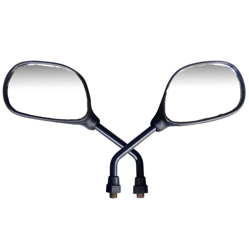 Espelho Par Retrovisor Moto Ybr 125 Mini Serve em Todas Yamaha
