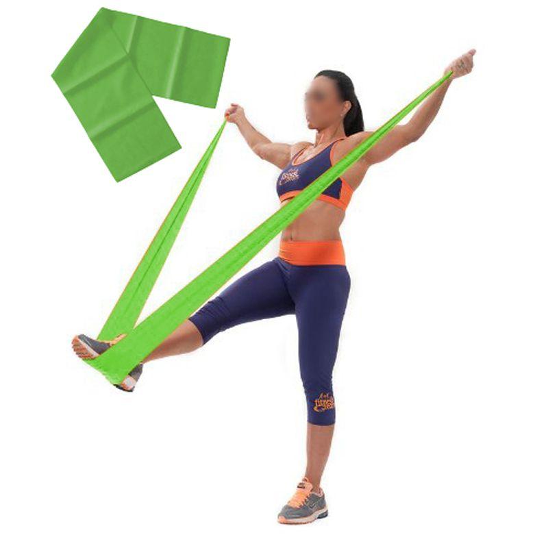 Faixa Elastica Latex Band Fit Yoga Exercicio Kit 3 Niveis Funcional